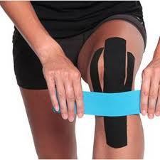 how to tape jumpers knee